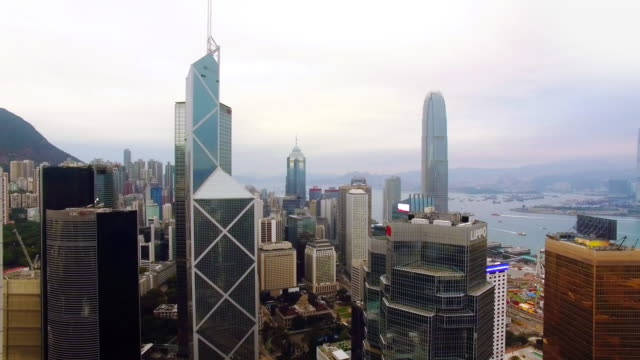 Hong Kong by Drone