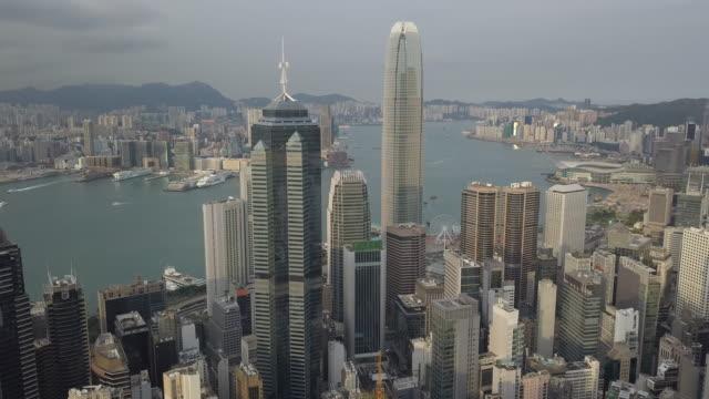 hong kong central, hong kong, china - hong kong island stock videos & royalty-free footage