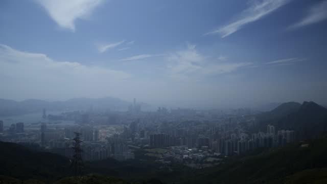 hong kong city hong kong island china asia - hong kong island stock videos & royalty-free footage