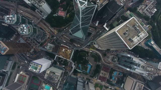 vidéos et rushes de ville de hong kong - central district de hong kong