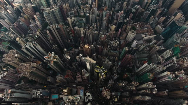 hong kong city - population explosion stock videos & royalty-free footage