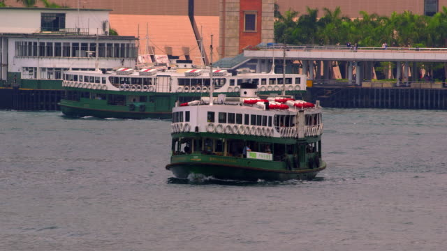 hong kong ferries - traghetto star video stock e b–roll
