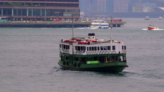 hong kong ferries - star ferry stock videos & royalty-free footage