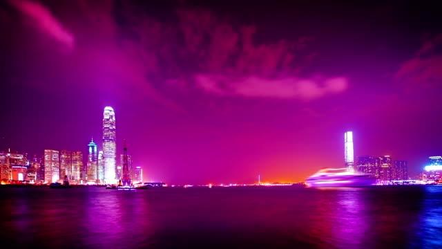 hong kong gateway - junk ship stock videos & royalty-free footage