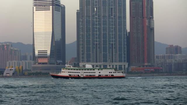 Hong Kong Harbor Skyscraper (FULL HD)