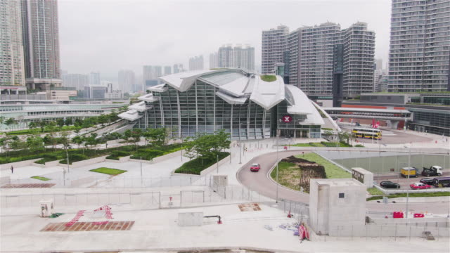 hong kong high-speed rail station - high speed train stock videos & royalty-free footage