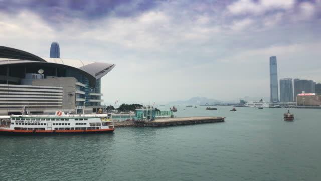 vídeos de stock, filmes e b-roll de hong kong hkcec - ilha de hong kong