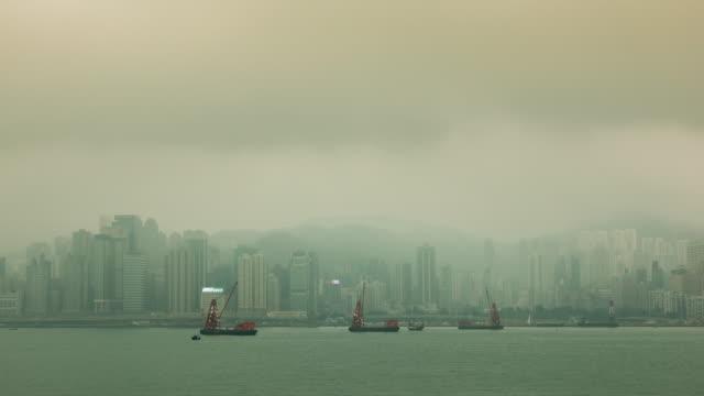 stockvideo's en b-roll-footage met 4k tl: hong kong in bewolkt. - hong kong