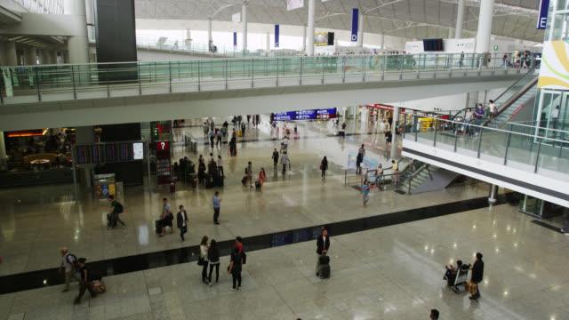 hong kong international airport - gate stock videos & royalty-free footage