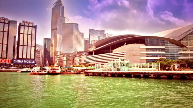 hong kong island - high dynamic range imaging stock-videos und b-roll-filmmaterial