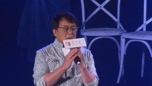 TWN: Jackie Chan promotes solo album in Taiwan