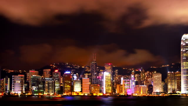 hong kong landmark - wide angle stock videos & royalty-free footage