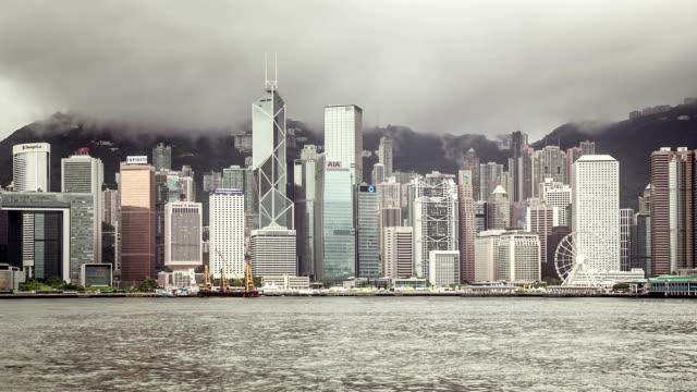 香港の曇っ - フェリーターミナル点の映像素材/bロール