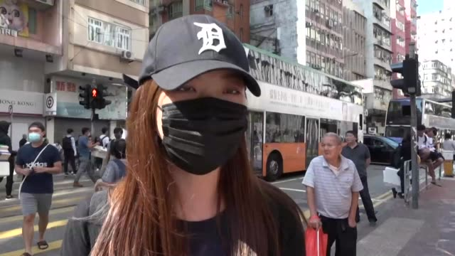 a hong kong police officer shot at masked protesters on monday morning hitting one in the torso as anger sparked by the recent death of a student... - torso stock videos & royalty-free footage