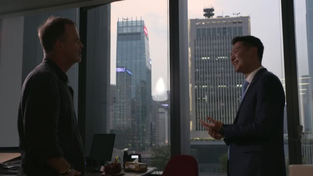 hong kong political crisis causing major problems for business; hong kong: jeremy tam interview sot cutaways miniature cathay pacific plane, cathay... - 画面切り替え カットアウェイ点の映像素材/bロール