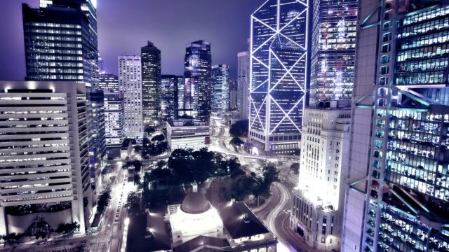 hong kong scene - wanchai stock videos and b-roll footage