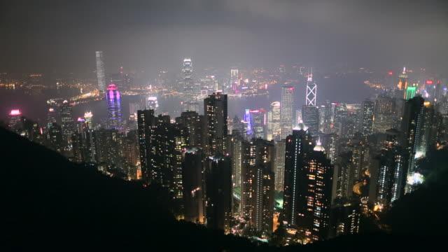 WS HA Hong Kong skyline at night