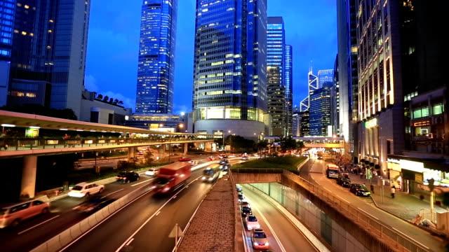 HD: Horizonte de Hong Kong en el centro de la ciudad