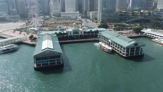 hong kong star ferry - star ferry stock videos & royalty-free footage