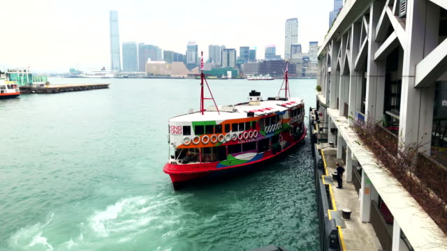 stockvideo's en b-roll-footage met hong kong star ferry - star ferry
