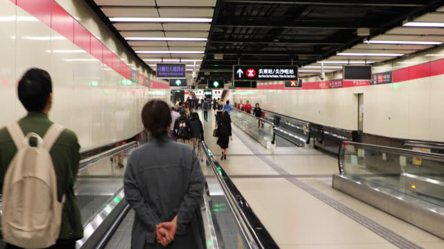 stockvideo's en b-roll-footage met hong kong subway,china - commercieel landvoertuig