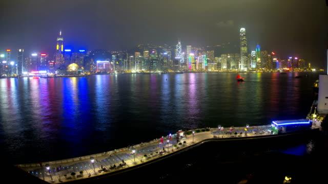 hong kong tsim sha tsui victoria harbour china - tsim sha tsui stock videos & royalty-free footage