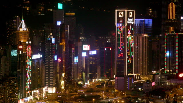 hong kong - central plaza hong kong stock videos & royalty-free footage