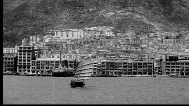 vidéos et rushes de 1938 hong kong - port victoria hong kong