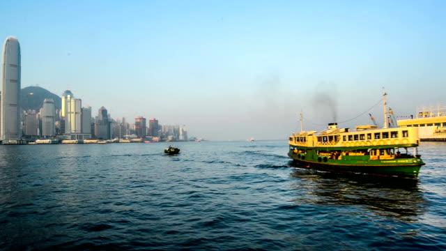 hong kong, china – nov 17,2014:  die anderen perspektive von segeln auf dem meer, hong kong, china - mittlerer teil stock-videos und b-roll-filmmaterial