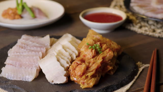 'hongeo samhap' / south korea - savory food stock videos & royalty-free footage
