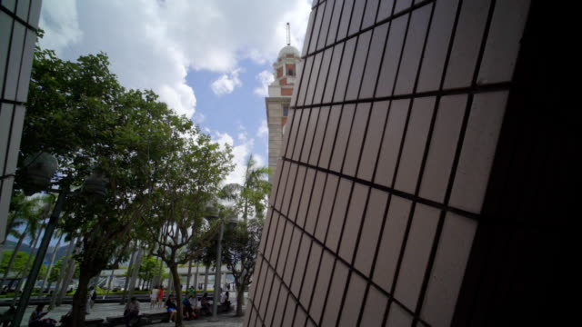 hongkong clock tower - clock tower stock videos & royalty-free footage