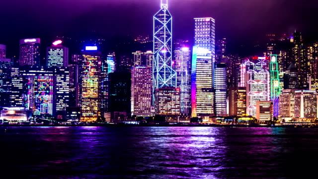 hongkong - hsbc main building stock videos and b-roll footage