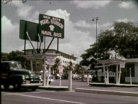 1959 honolulu and pearl harbor - 1950 1959 stock-videos und b-roll-filmmaterial