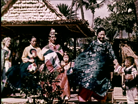1959 honolulu and the diversity of hawaii - 1 minute or greater stock videos & royalty-free footage