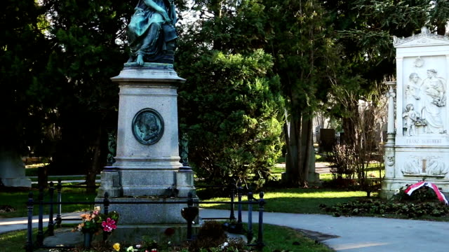 Honorary graves von berühmten Musikern