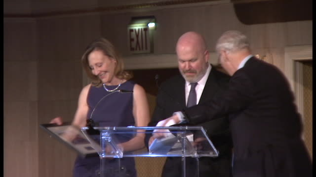 SPEECH Honoree Cliff Asness on contributions to the IRC at 2014 International Rescue Committee Freedom Award Benefit Event at The Waldorf Astoria on...