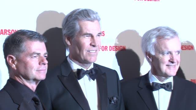 Honorees at the 2009 Parsons Fashion Benefit Honoring Calvin Klein at New York NY