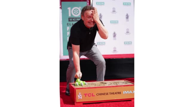 TCM honors Billy Crystal with a Hand and Footprint Ceremony at TCL Chinese Theatre IMAX on April 12 2019 in Hollywood California