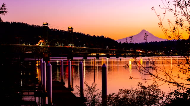 hood river, or - portland oregon snow stock videos & royalty-free footage