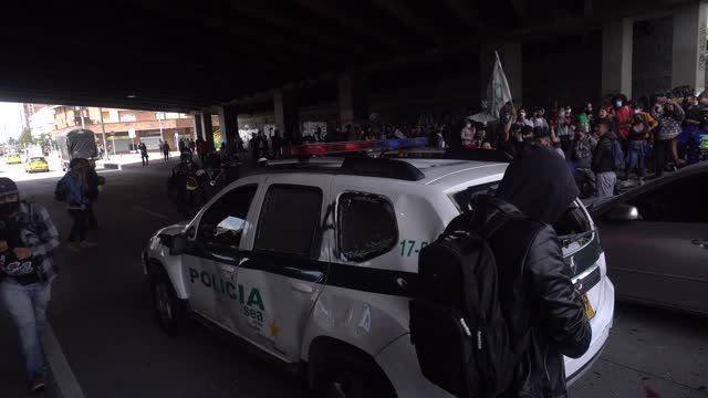 COL: Protests Against The Government In Bogota