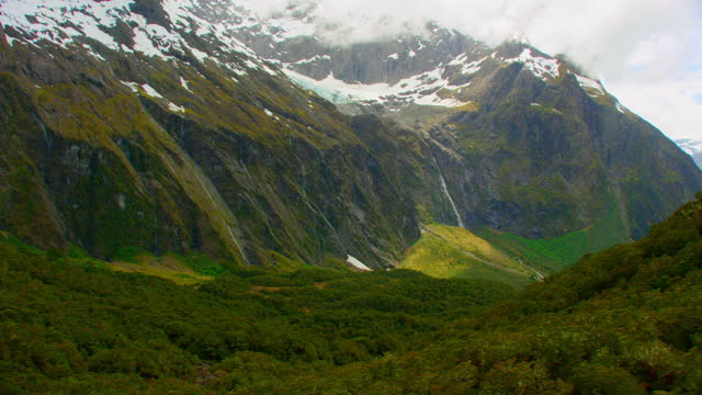 hooker valley new zealand aerial - new zealand stock videos & royalty-free footage