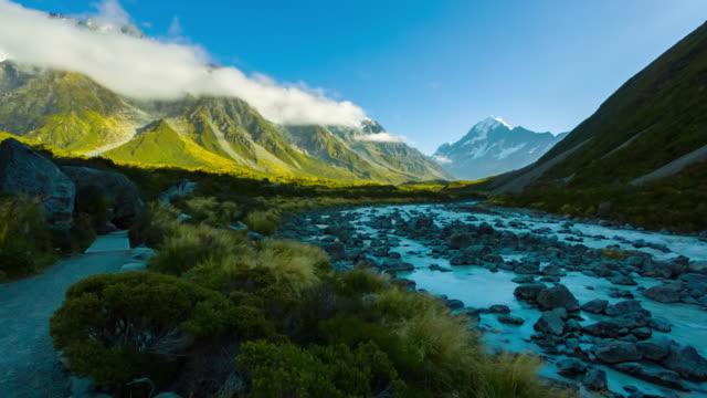 Valle di Hooker pista Parco Nazionale del Monte Cook