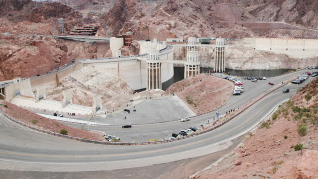 hoover dam - 4k - hoover dam stock videos and b-roll footage