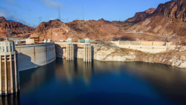 hoover dam in 2016 - hoover dam stock videos and b-roll footage