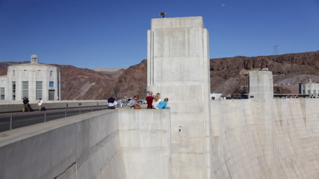 hoover dam, lake mead national recreation area, near las vegas, nevada. - clark county nevada stock videos and b-roll footage