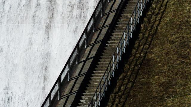 vídeos de stock, filmes e b-roll de hoover dam, ohio, stairs - represa hoover
