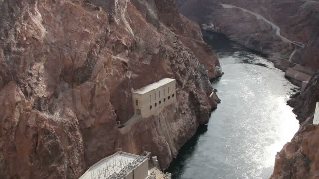 hoover dam pan - hoover dam stock videos and b-roll footage