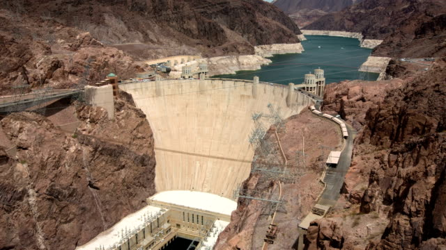 hoover dam - hoover dam stock videos and b-roll footage