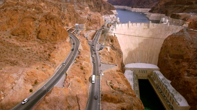 hoover dam - dam stock videos and b-roll footage