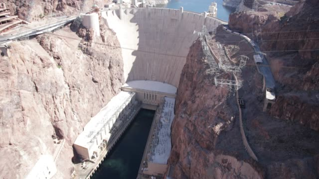 hoover dam - hoover dam stock videos & royalty-free footage